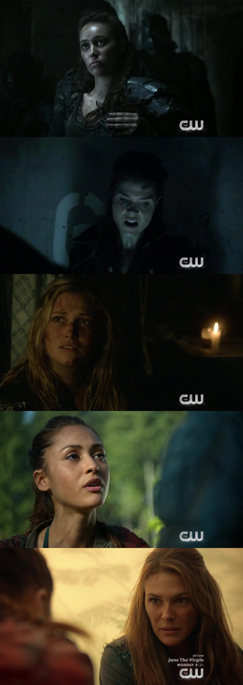 I love how many badass women characters on this show.