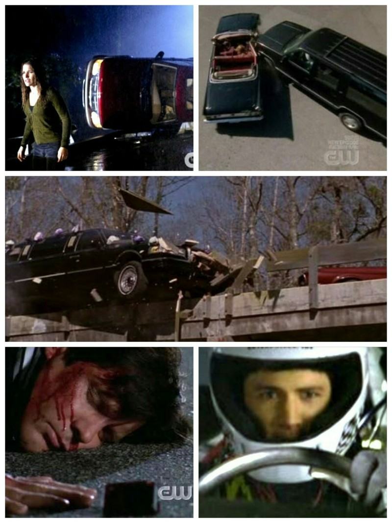 One Tree Hill definitely loves a car accident!