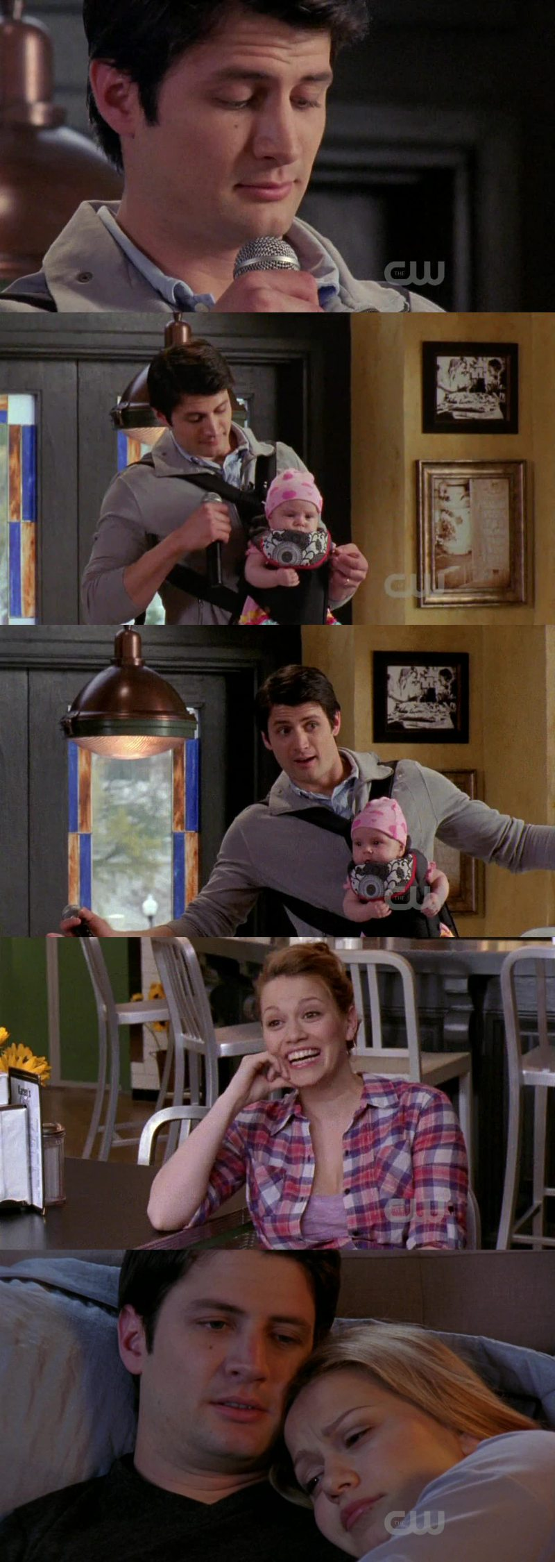 In this last season, Naley is nothing but adorable!
