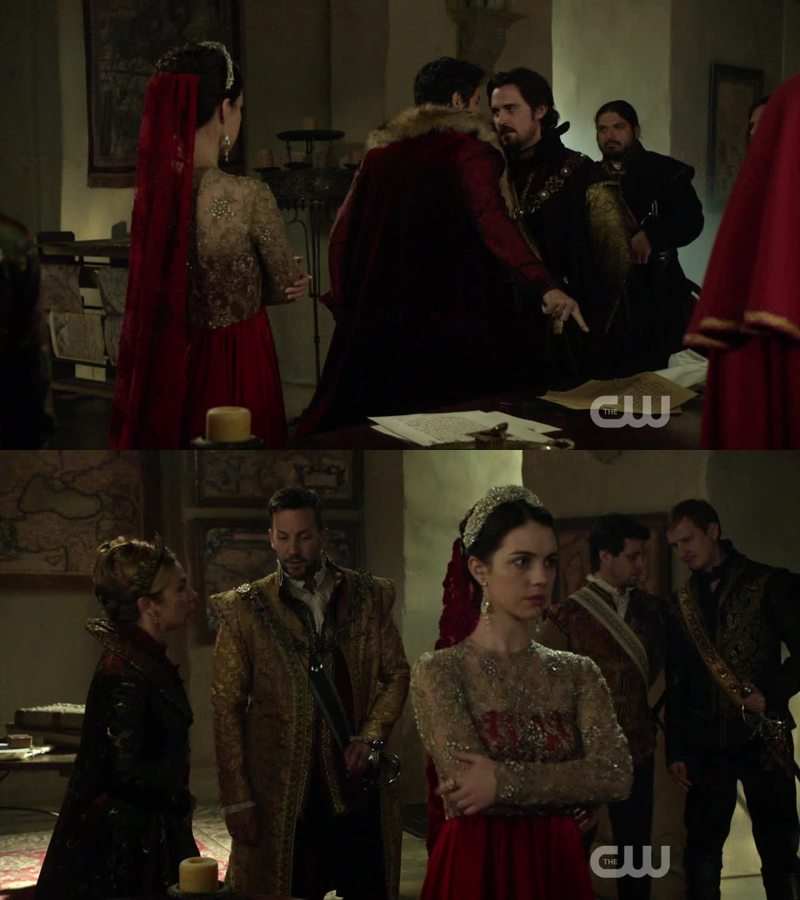 Mary's dresses are really amazing