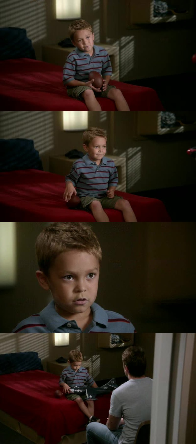 This kid is just adorable!