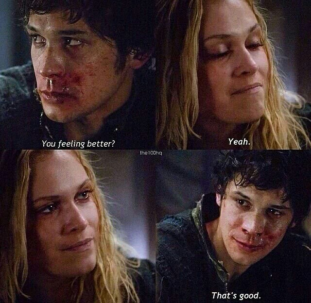 """""""I saw the 100 and not ship bellarke"""" please see again because there's something wrong ......"""