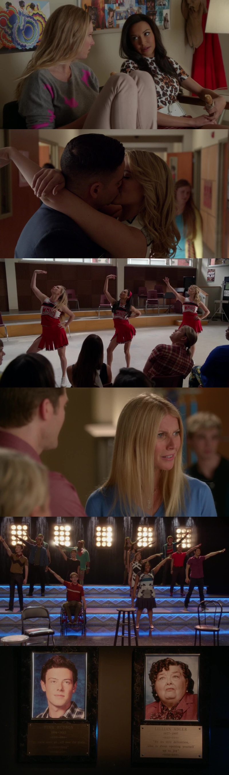 Brittana, Puck&Quinn, The Unholy Trinity, Holly Holiday, all those throwing backs and all those emotions ended up in one of the best Glee episodes ever 😍  ❤️❤️❤️  💜