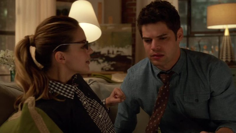 You can actually see the moment his heart breaks. I hope they still get together though.