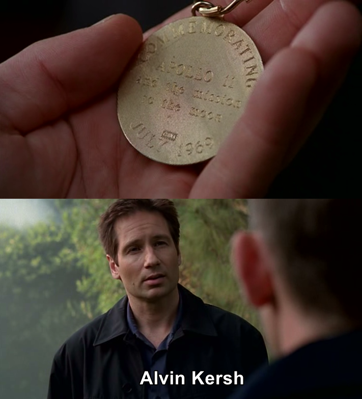 Another refreshing episode, I like when they approach new subjects. It's different but good. I also liked the connection to a previous season/episode like the Apollo 11 medal that Mulder gave to Scully. It was fun to see Mulder saying that he was Alvin Kersh, Kersh will be mad!!