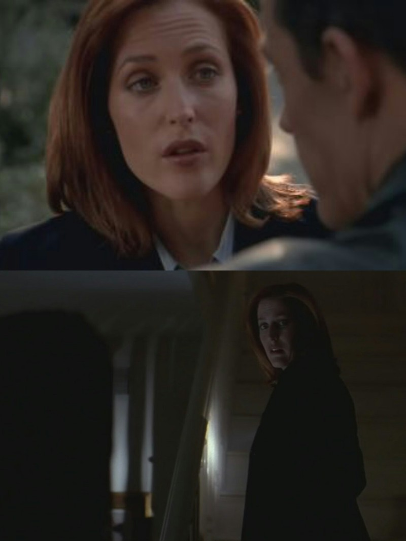 "I already hate this man. 👍✨  Scully: ""You know, Rocky... I'm a mother. Dr Bronzino: ""Mothers are women, too.""  Dr Bronzino: ""I'd like to think of it as a hymenopteran relationship. Two scientists using their special knowledge reaching higher than either of them could ever reach alone. And if I may say so, Doctor, you complete me."" Scully: ""I got upstairs, you take down."""