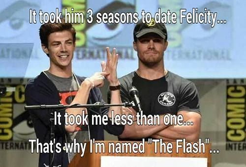 Love Flash more than Arrow :)
