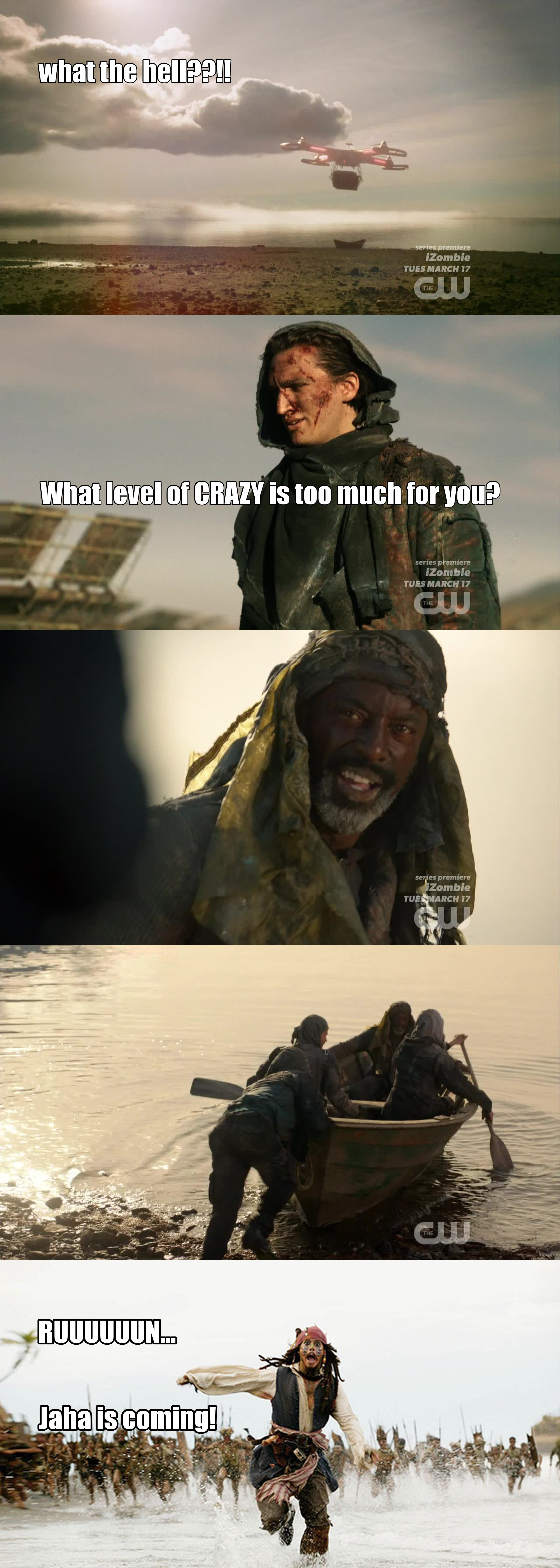 This week Jaha & co were the best part!