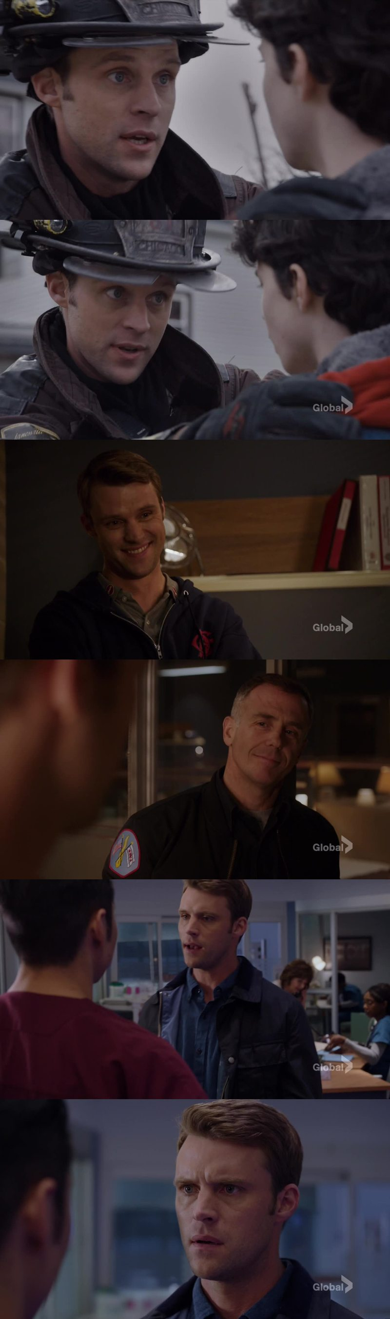A great lieutenant, an amazing friend...the kindest human being ❤ Matthew Casey, I couldn't love you more 😍😢