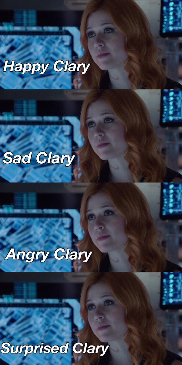 Fifty shades of Clary