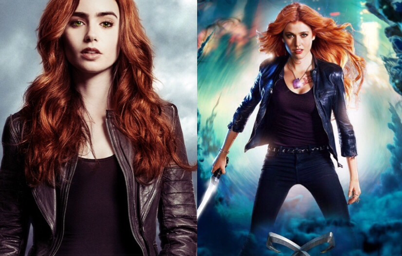 Sorry but for me the comparison is inevitable.   Every time I watch Katherine McNamara acting I remember Lily Collins and how good she was as Clary.   I hope Katherine will improve in the next episodes, I really do.