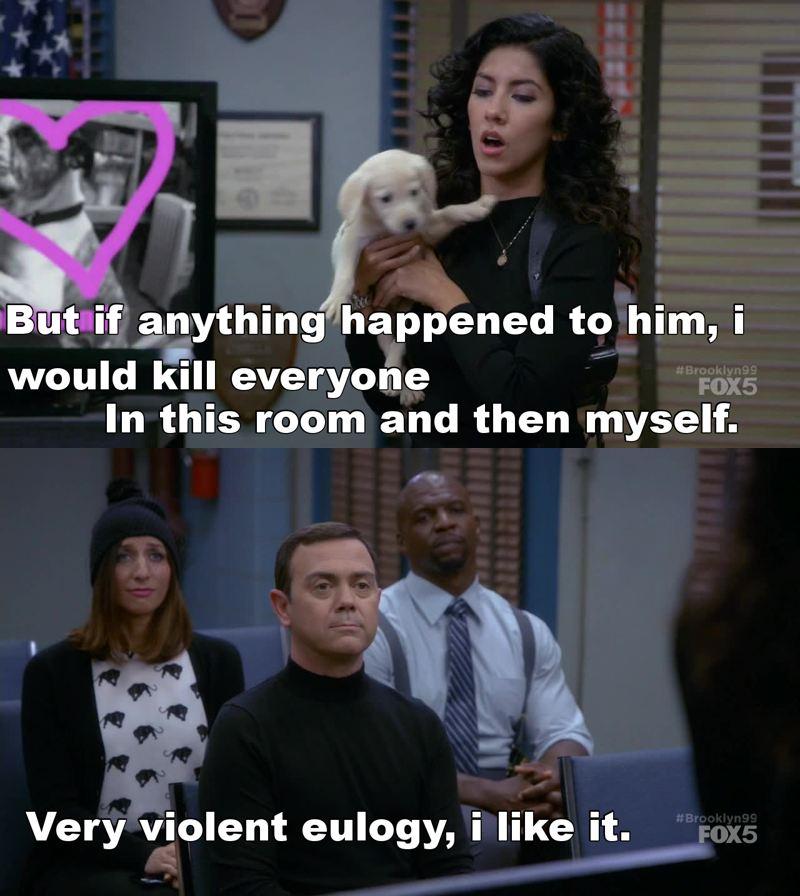 hahaha - that's so rosa!!! Luv it!