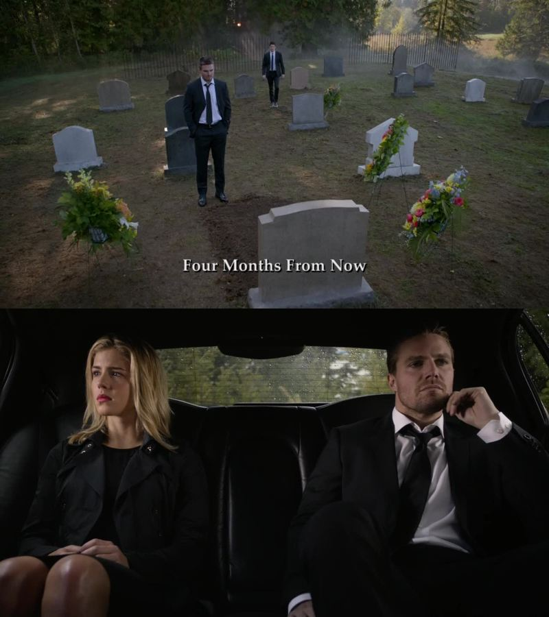 Honestly all that matters is IT IS NOT FELICITY IN THAT GRAVE.