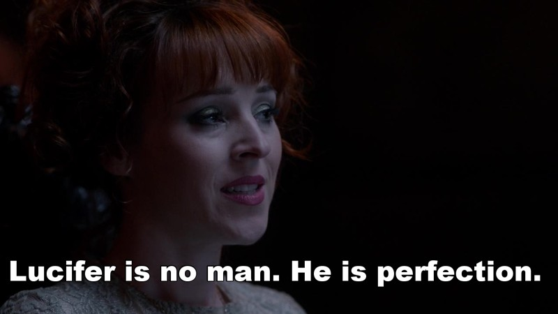 That moment when Rowena speaks for the fandom.