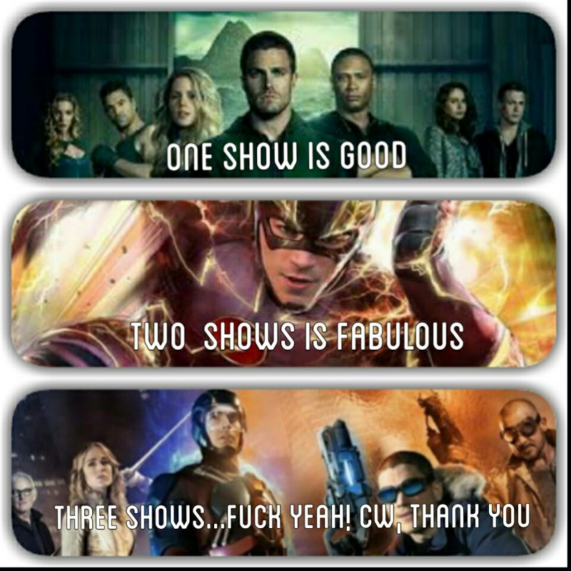 The wait is over! Legends of Tomorrow 🙌💪👏