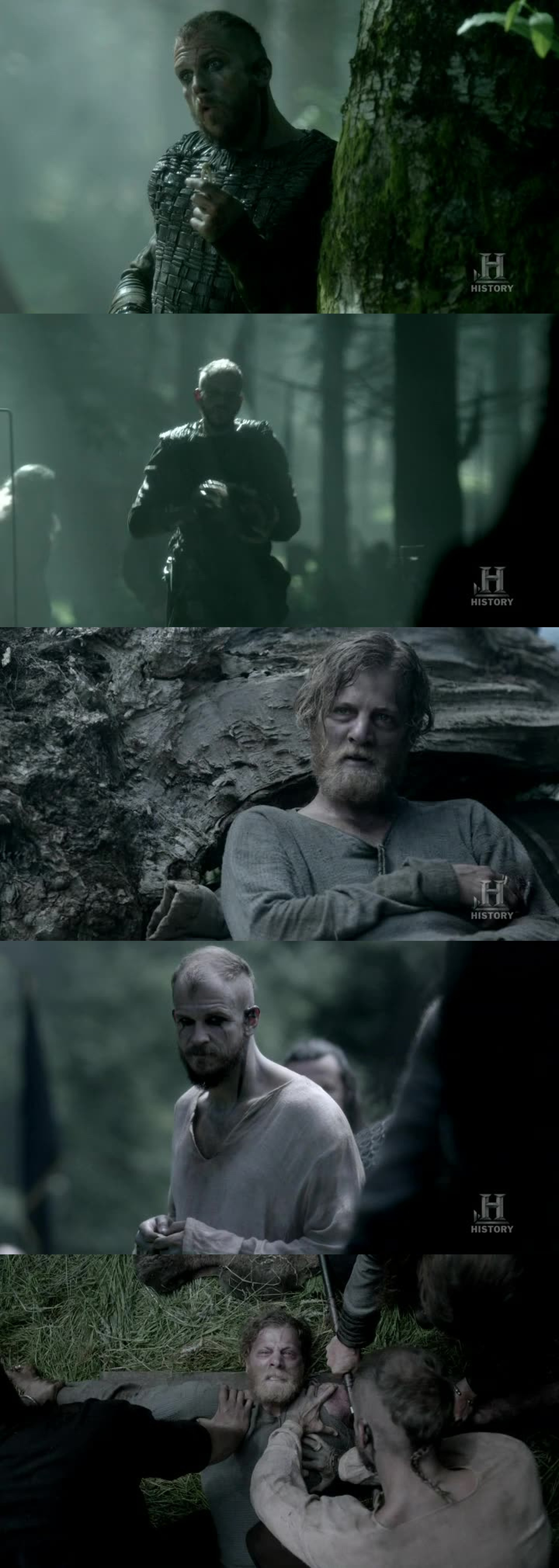 Floki:  Yes, I will bring it to you.  His corpse is not yet in the earth.  Torstein:  Floki, will you do it? Floki:  I suppose so.  Anything and everything you want done, just ask Floki.