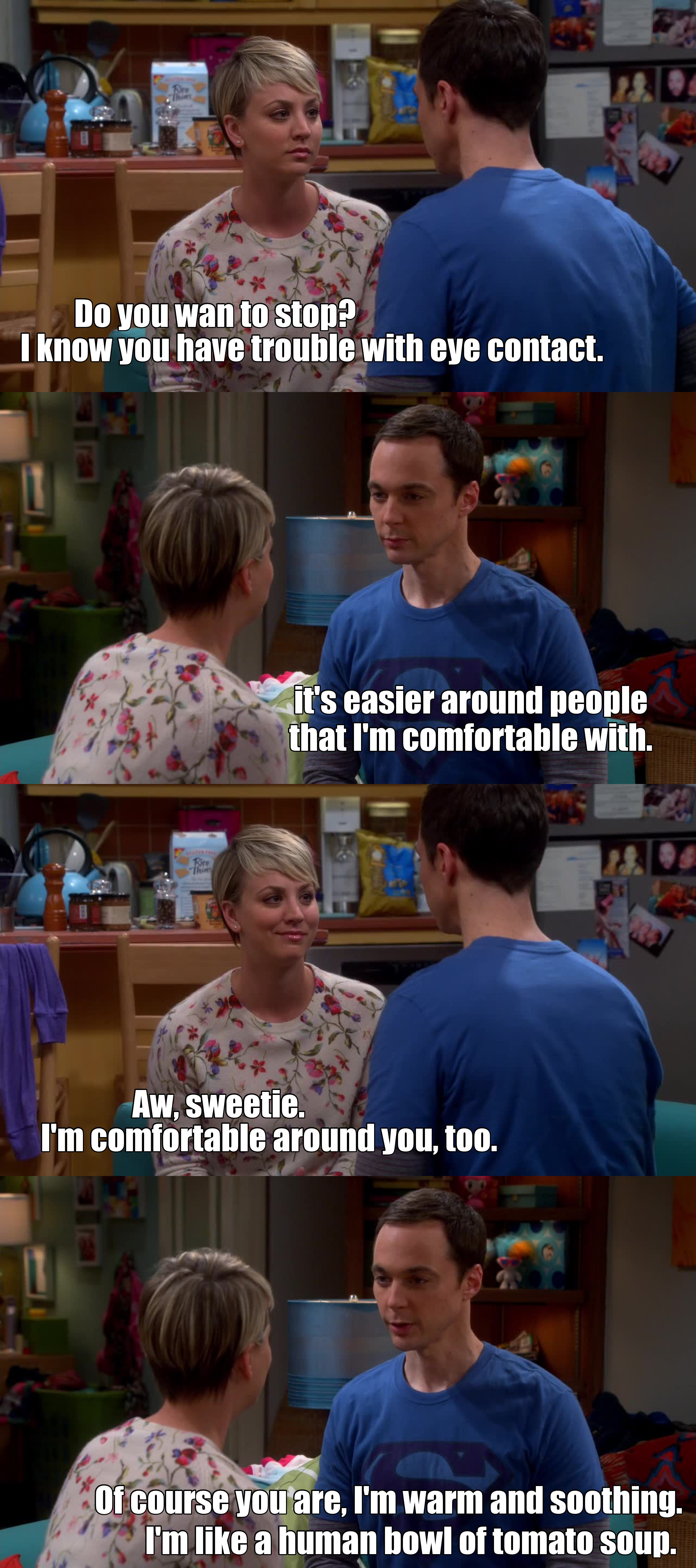 I love Penny/Sheldon friendship since the beginning and it's still one of the best things of this show! :)