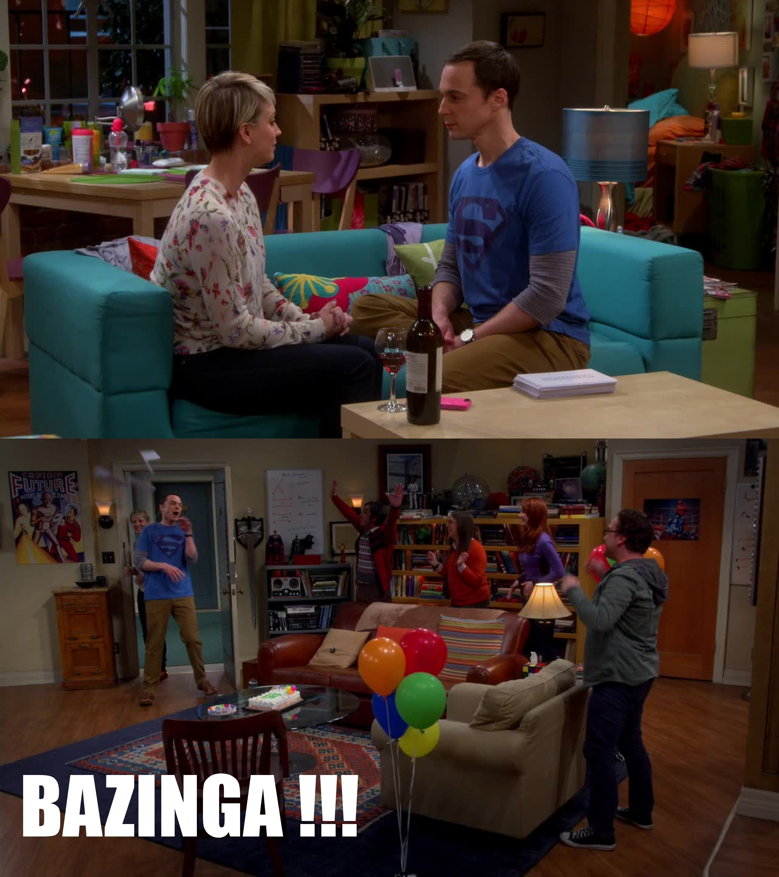 this episode is one of the best of big bang theory. It is so funny !  Penny and Sheldon make a perfect friendship