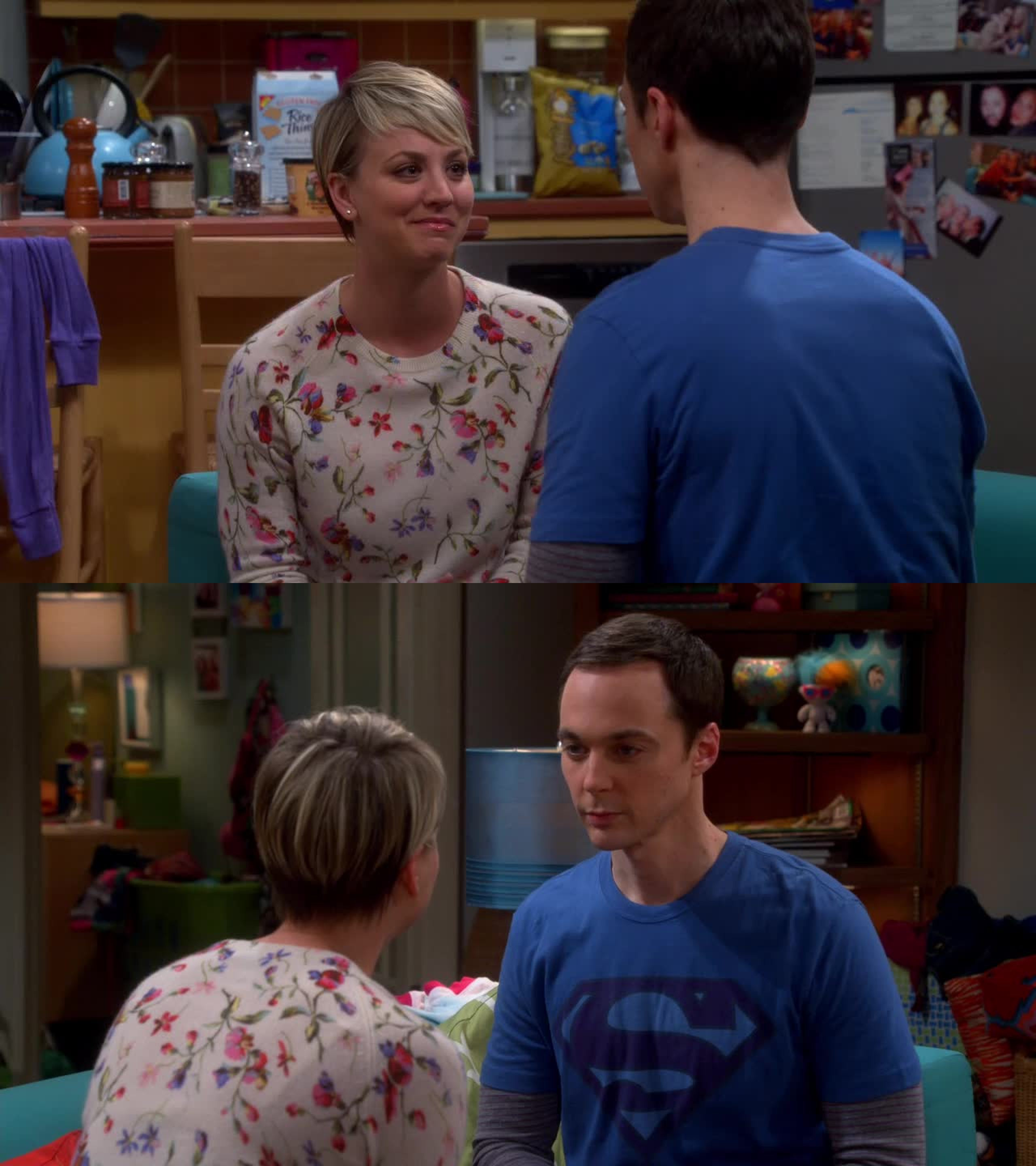 I absolutely adored the scenes with Penny and Sheldon. Such an unique and heart-warming friendship.