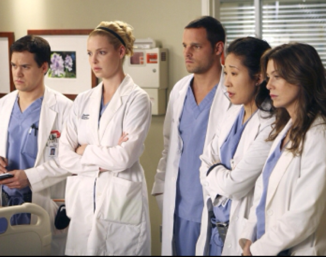 George, Izzie, Alex, Christina, Meredith.  I miss them all together.