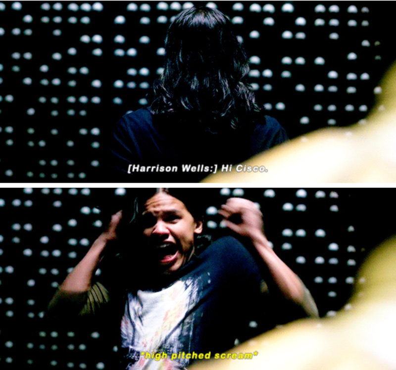 Cisco is my favorite character EVER!!