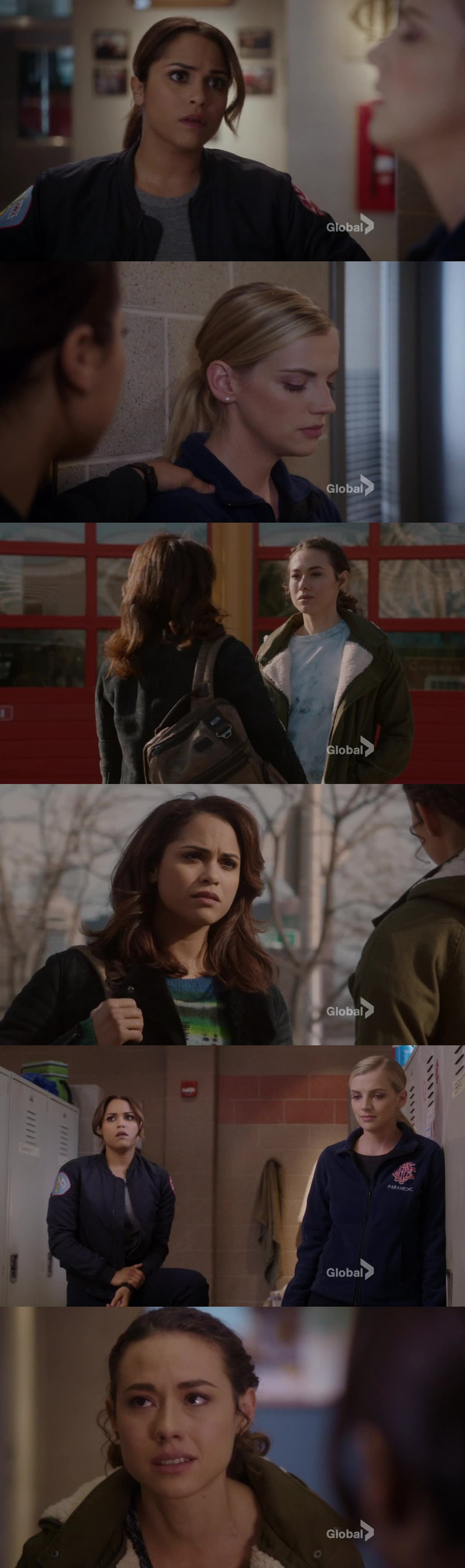 That episode was very touch but I have to say that it was good to see the ladies together. I love when Brett and Dawson are having a moment. I think that was the first time Dawson and Chili had a moment (and there was a reference of Shay 😭😭😭) and then a scene with only Dawson, Brett and Chili. Probably the first time as well. So much testosterone on that show that it's good to have ladies time sometimes. Better be more please!! And they are an example and inspiration for women who want to get into that field job.