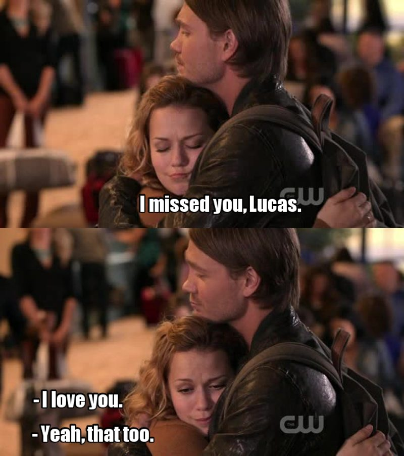 We all missed you, Lucas ❤