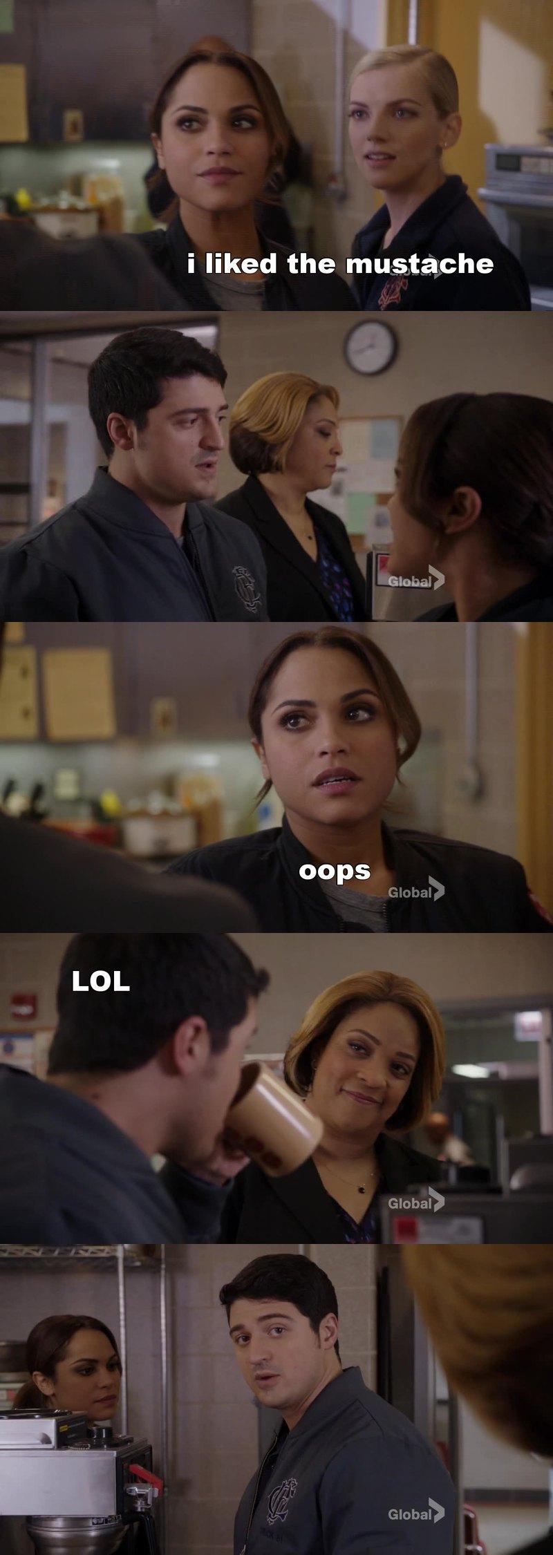 hilarious scene...