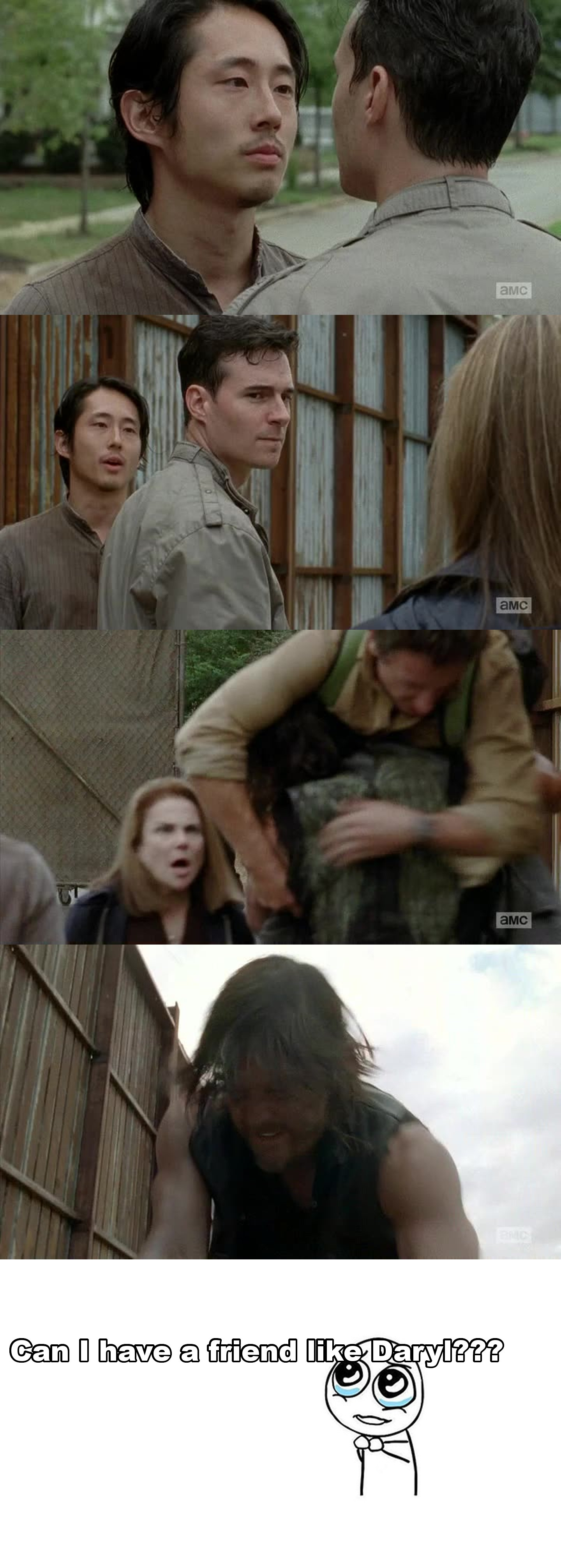Daryl is badass!!! This scene made me so happy!!
