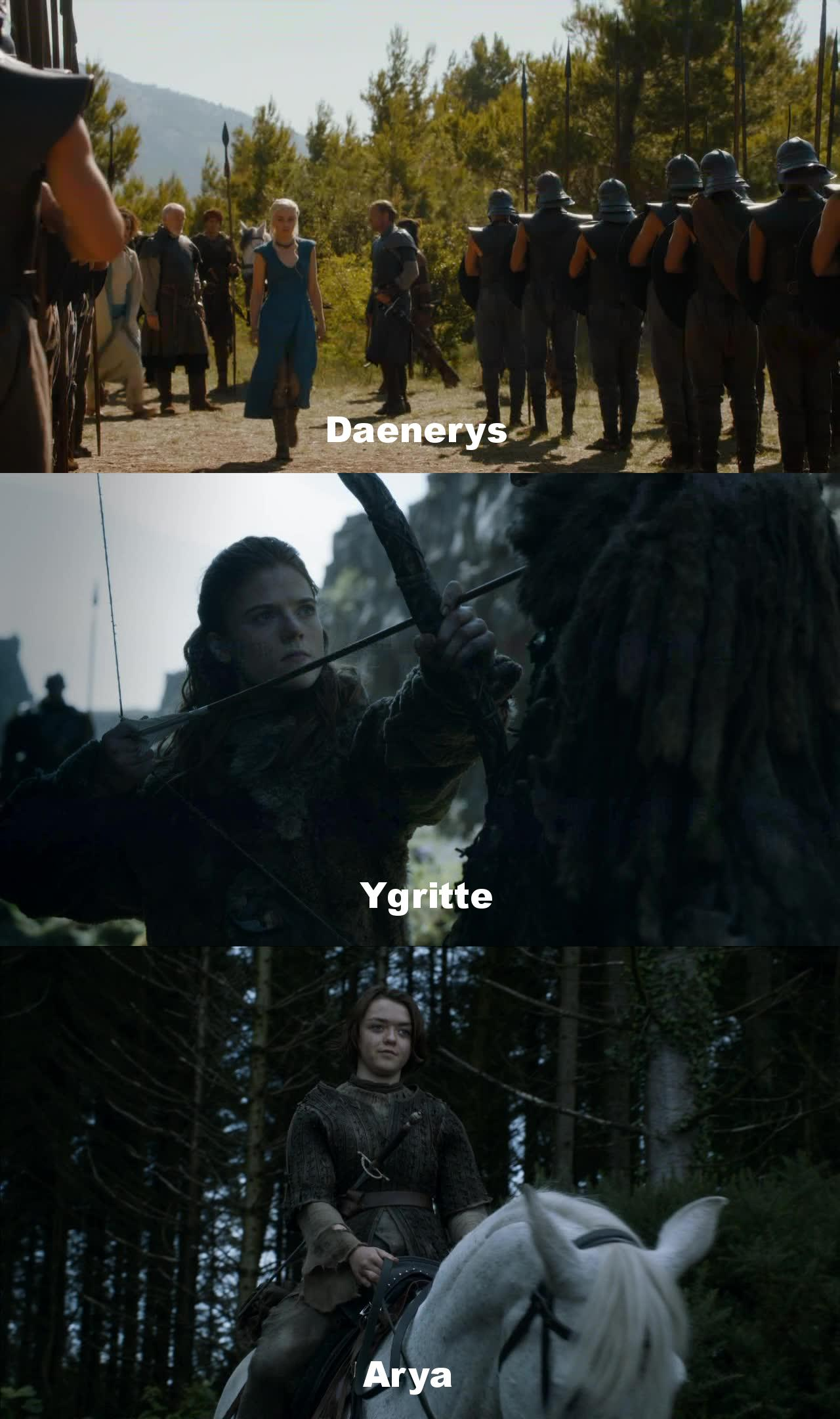 Game of Thrones S04, women take power!