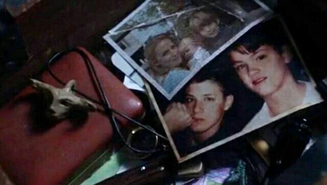 """Fetus Sam and Dean, fake Samulet from """"Fan Fiction"""", Dean's old silver ring, a toy army man... Awe, Sam, you gonna make me cry"""