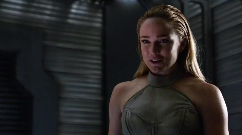 I like her better here than in Arrow