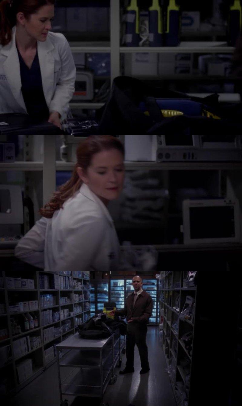 loved kepner stealing stuff