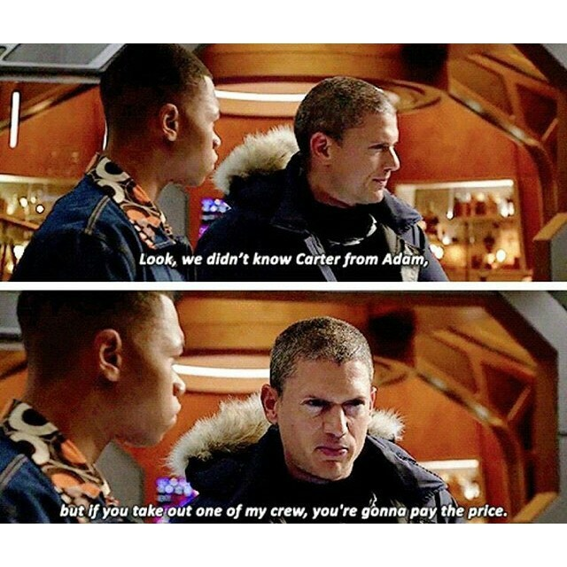 This scene , Leonard Snart 👌  #LegendsOfTomorrow