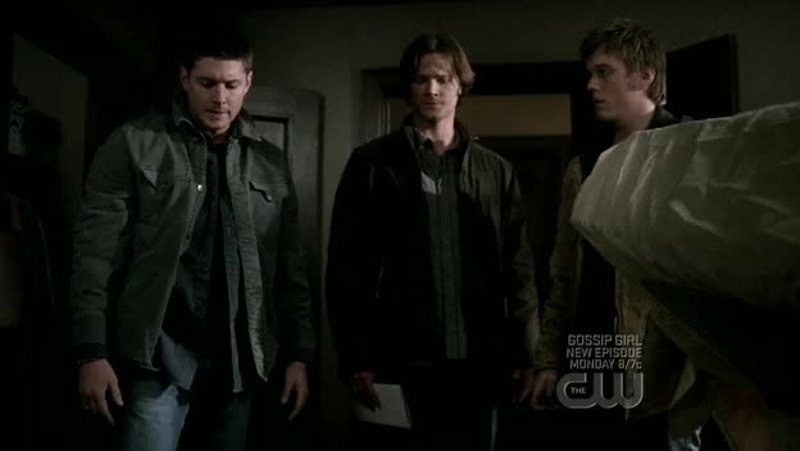 "I could hear Sam's ""Always with the scissors, Dean"", from season 2"