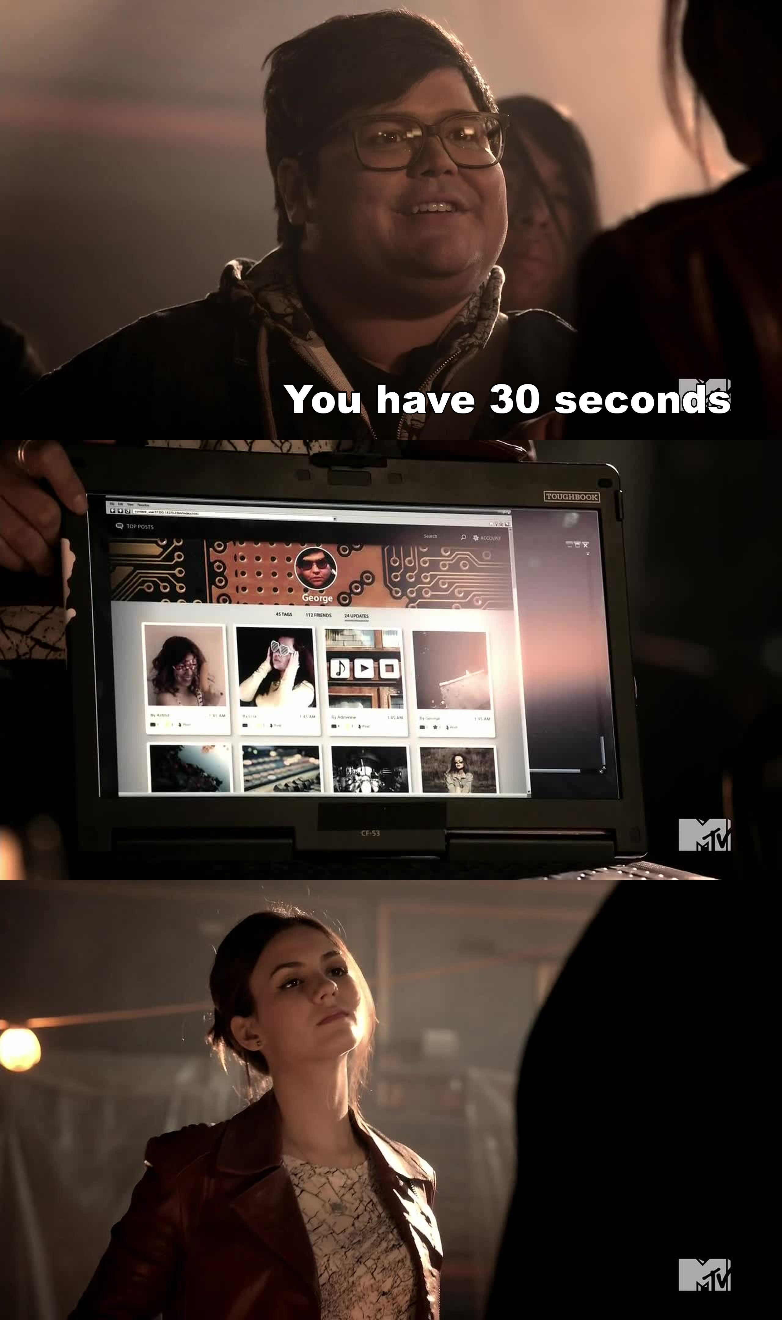 30 seconds is not enough for me to even turn on my laptop! Just saying :P