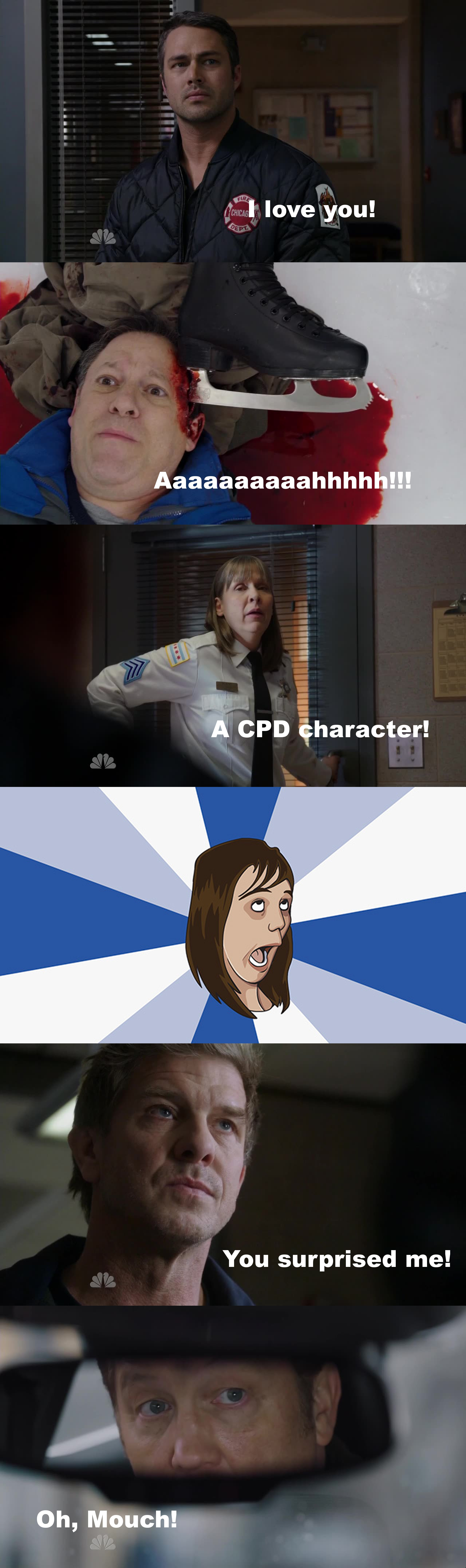 W O W I was so depressed.. no Chicago PD this week! And I hoped so bad some of them will come to 51 (I know I have a problem with this two show!) and then I had this great episode!  So much emotions! Can't wait for next week