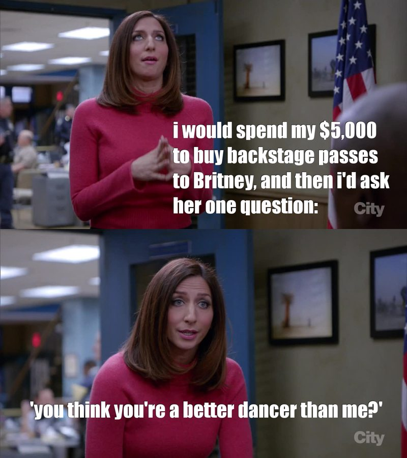 no one is a better dancer than Gina!! 😂