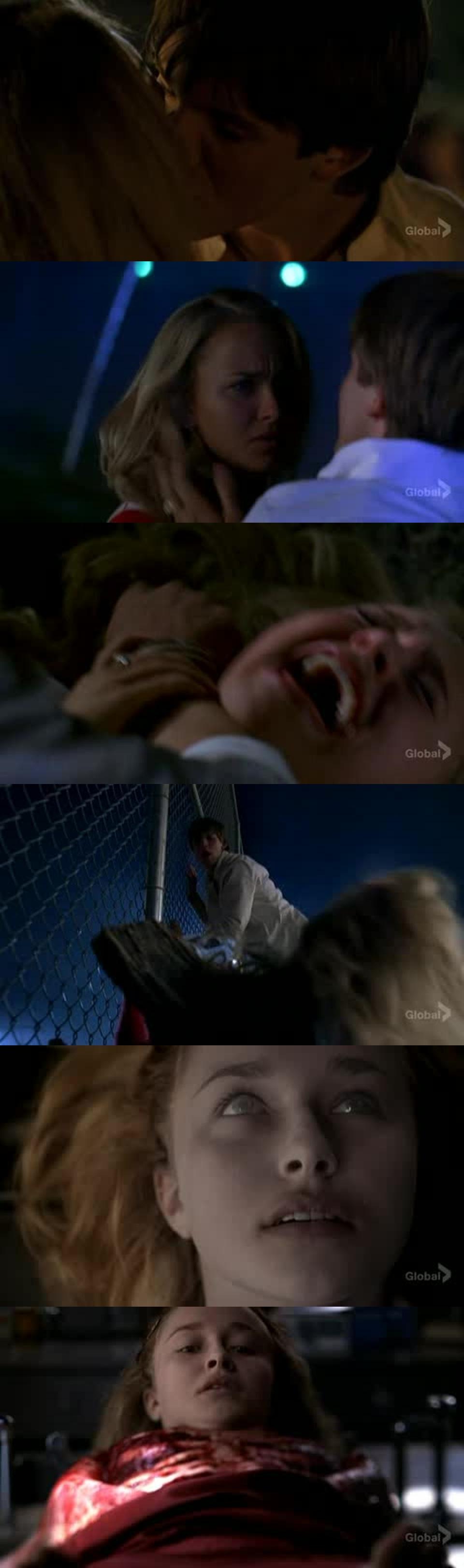 WTF ça doit faire mal, quoi que là non finalement c'est la routine pour Claire.