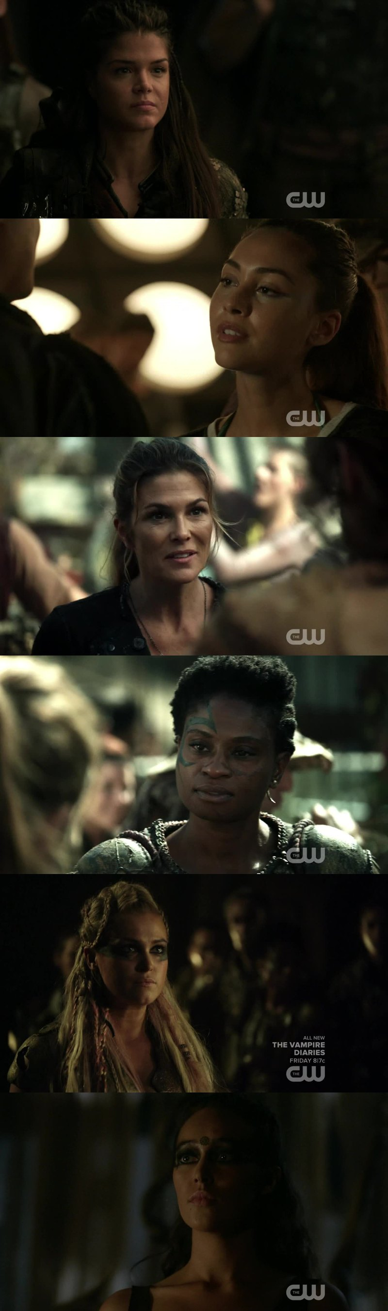 what I like about this show is that all the women on this show are badass they take charge and are fierce fighters. There ain't many shows on TV where majority of the women are leaders so I love it