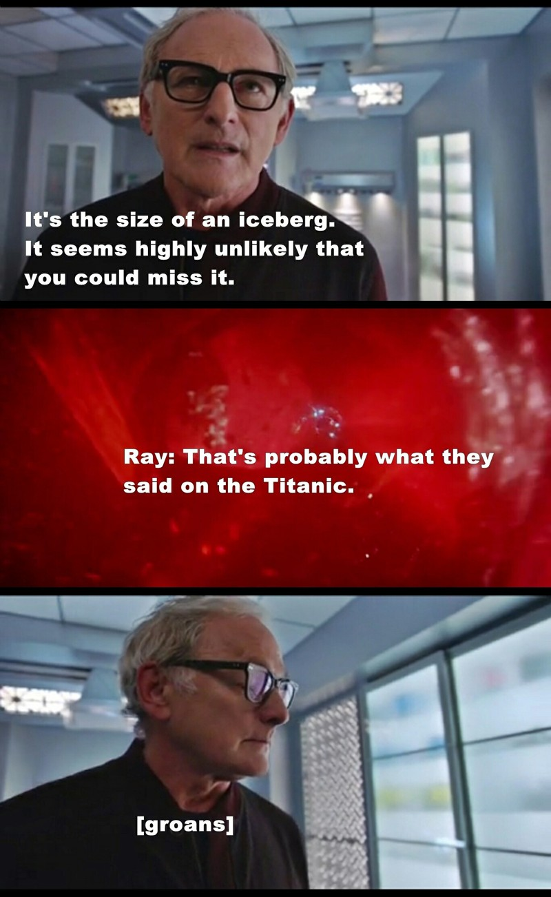 omg you don't make Titanic jokes around Victor Garber 😹