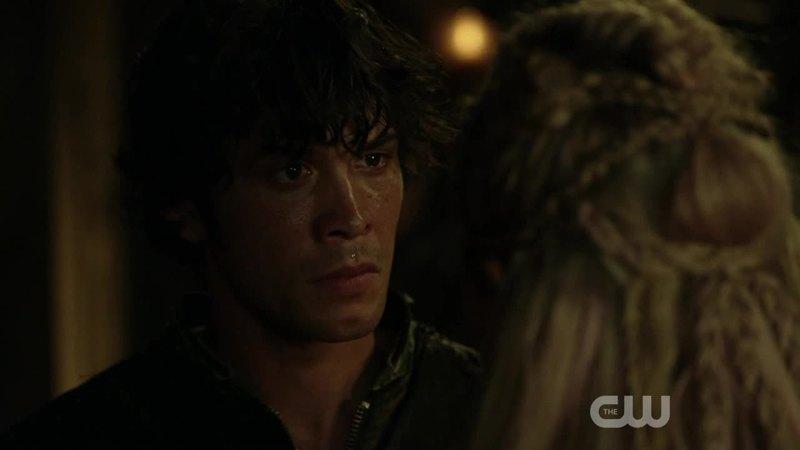 My heart broke with Bellamy's heart