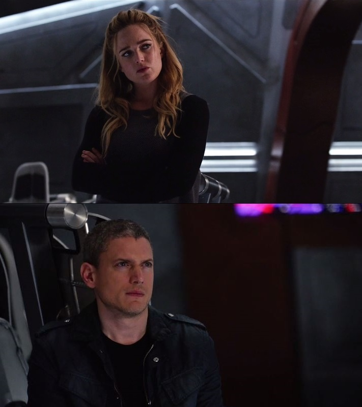 Sara Lance/White Canary and Leonard Snart/Captain Cold   Can I have more of them together???