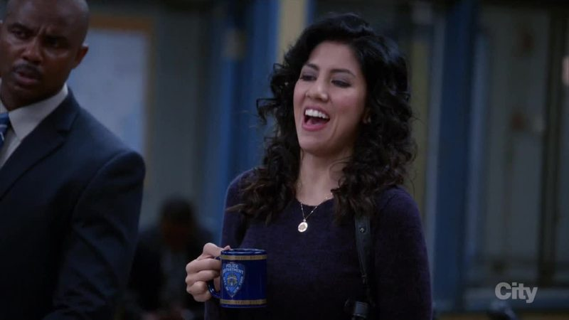 A very rare sight: Rosa laughing