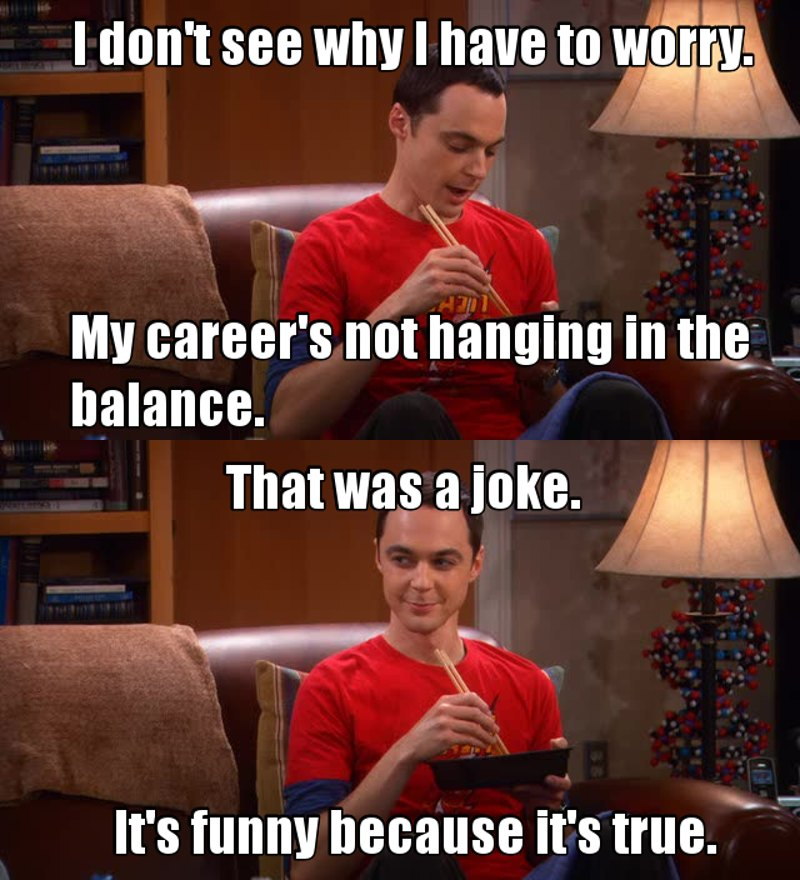"""""""It's funny because it's true"""" I LOVE SHELDON'S PERSONALITY AND SENSE OF HUMOR😭😂"""