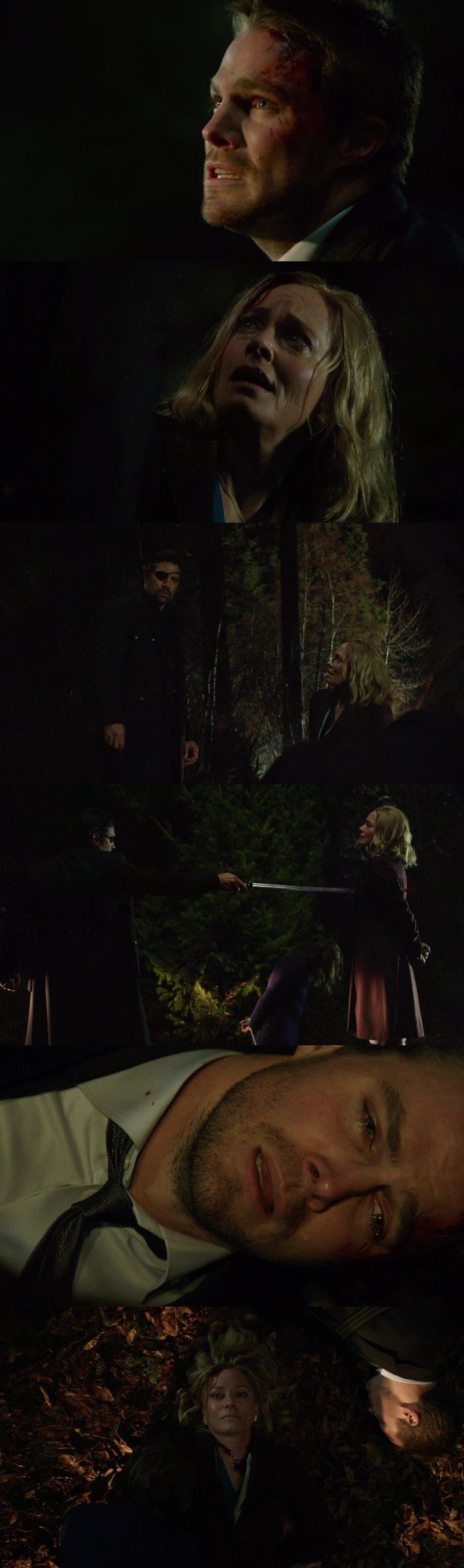 Moira personnage détestable au début de SERIE puis petit à petit on s'y attachais et voilà que Slade s'en mêle ! Je me demande comment va se relever Oliver ! Trop triste quand même !