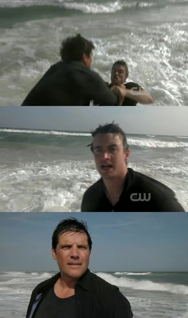 I love when Dan is drowning Clay !!