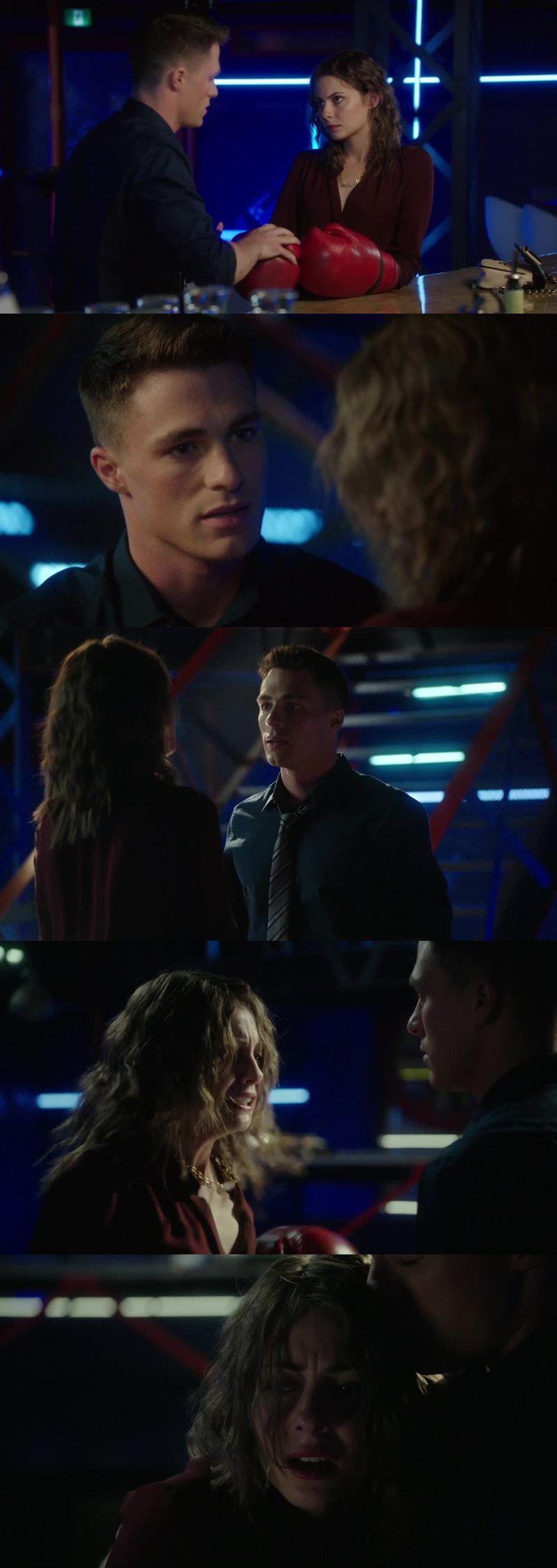 Let's focus on how much Roy loves Thea