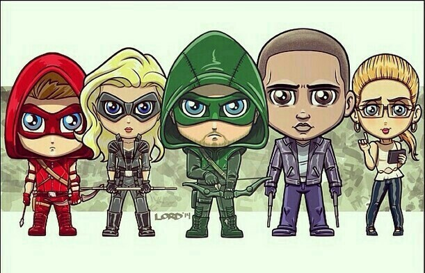 #TeamArrow
