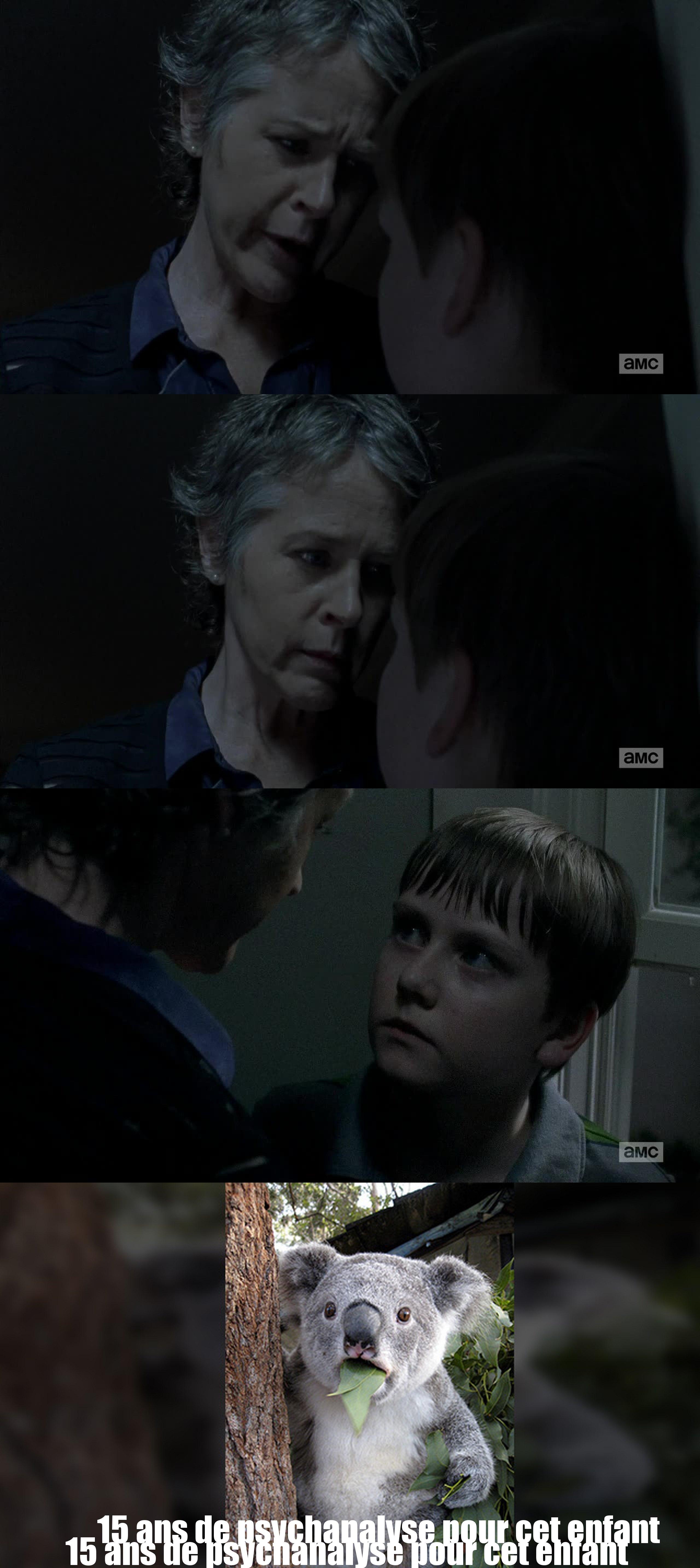 Mais Carole est tellement énorme dans cette saison ! j'adore ce personnage !
